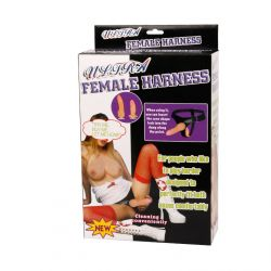 Arnes Anal y Vaginal Realistico Femenino [16.2cm]